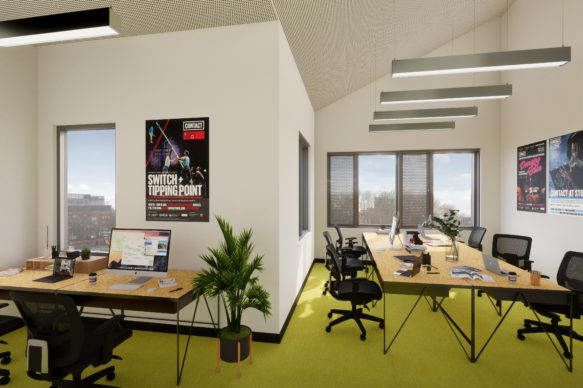 Hireable Office_co-working space