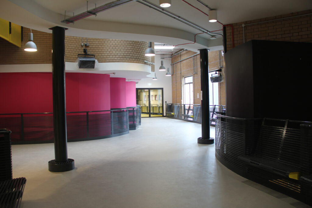 Upper foyer of Contact Theatre