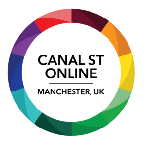 logo reads Canal St Online Manchester UK